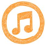 Nachgezeichnete_Logos_iTunes